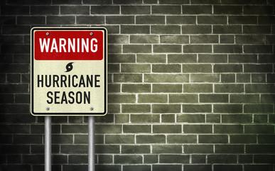 Warning - Hurricane season