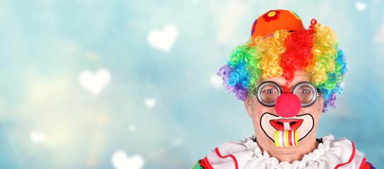 lachender Clown