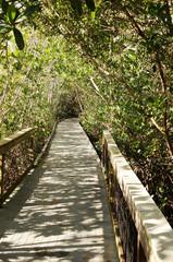 Darling National Wildlife Refuge path on Sanibel Island