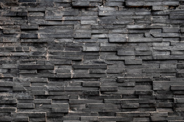 Black rectangle square tile background & wallpaper