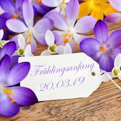 Frühlingsanfang 2019
