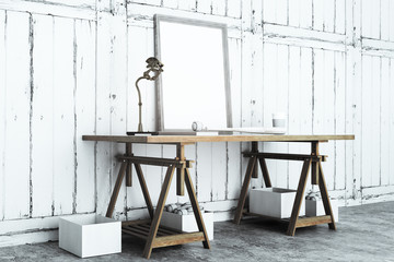 Table with frame