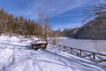 Lago di ponte & neve