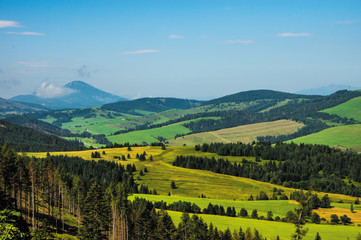 landscape in Slovakia