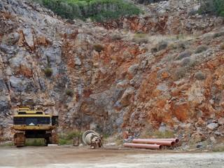 Felsbruch auf Kreta