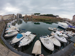 City View from vecchia Fort in Livorno Italy take 4