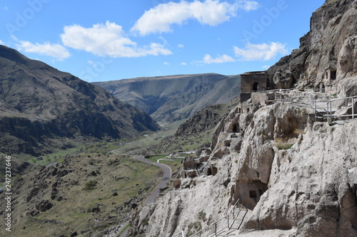 Hidden Caves In The Mountains Panorama View High Stock Photo And
