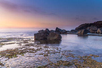 Rocky Headland Seascape