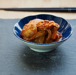 한국의 음식 김치볶음