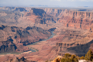 View on Colorado River in Grand Canyon