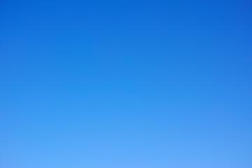 順光の青空