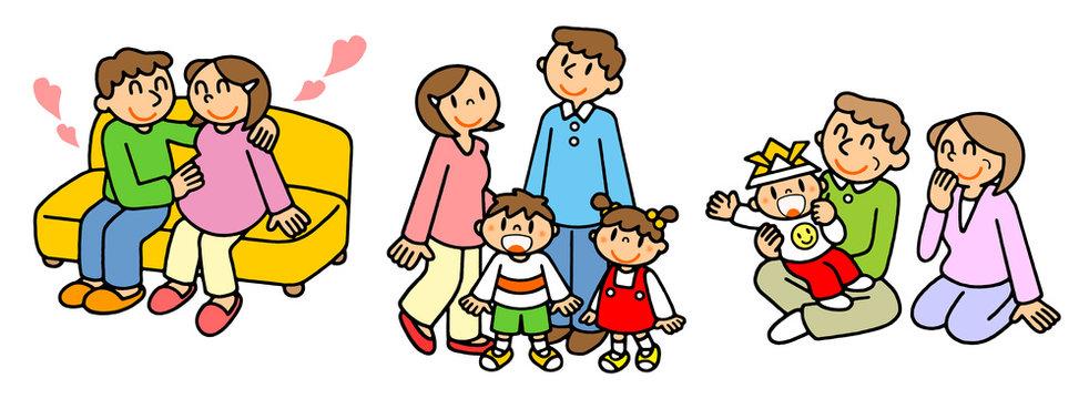 人の一生を描くシリーズ 出産・家族・老後