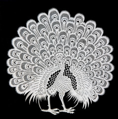 traditional Chinese paper-cut works