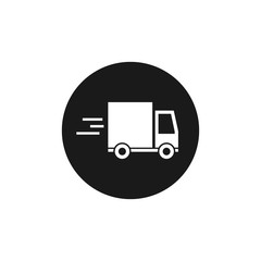 Delivery track icon. vector flat symbol EPS10