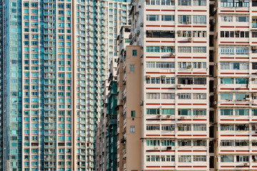 Housing in Hong Kong Fotomurales