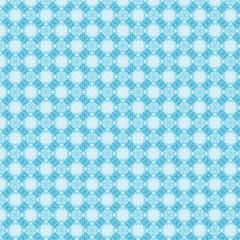 Nahtloses blaues kaleidoskop Muster