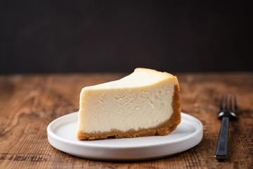 cheesecake, cake, cheese, delicious, dessert, food, slice, sweet, tasty, dark, plain, background, pastry, pie, piece, white, bakery, fresh, plate, baked, homemade, gourmet, cream, closeup, nobody, sna