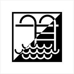 Swimming Pool Ladder Icon