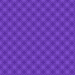 Nahtloses violettes Muster Ornament