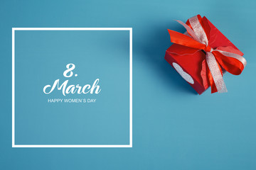 The international happy women's day on 8 March