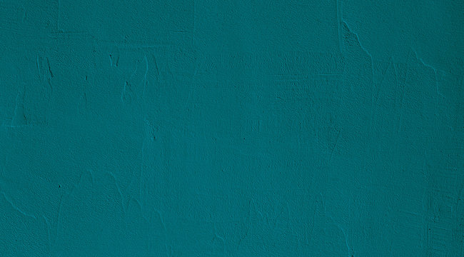 Abstract Grunge Green Stucco Wall Texture Background