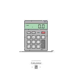 Calculator - Line color icon
