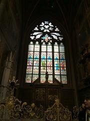 ステンドグラス プラハの大聖堂