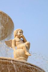 Tangshan world horticultural exposition Italian garden Fountain sculpture, Tangshan city, china