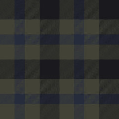 Plaid Pattern. Olive, navy, Black
