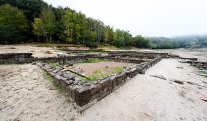 Aquis Querquennis ruins of the Roman settlement Aquis Querquennis.