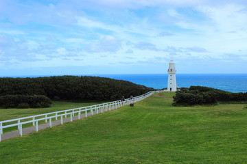 Lighthouse at Cape Otway - Great Ocean Road - Australia