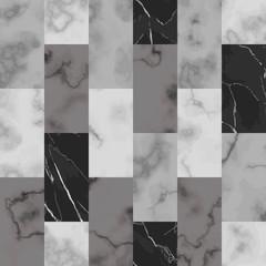 Marble Brick Seamless Pattern. Vector Luxury Background