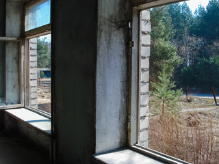Abandoned buildings and objects as a result of the Chernobyl nuclear accident