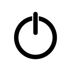 Shut down icon vector