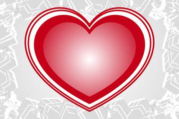 贈り物,バレンタインデー,赤いハート模様,愛,ギフト,プレゼント,イメージ,無料素材,ポスター,宣伝