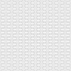Abstract geometric pattern seamless with gray lines overlap on white background.