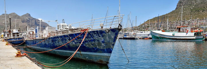 Hout Bay Harbour - Western Cape - South Afrca