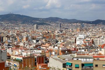 Beautiful view of Barcelona, Catalonia, Spain