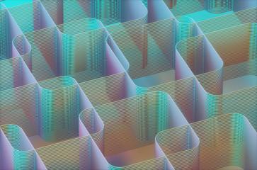Geometric background, illustration