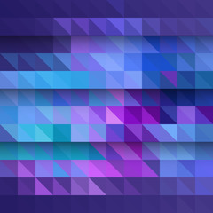 Abstract background pattern with triangles and shadows, eps10 vector. Abstract geometric background.