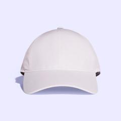 White Lavender Blush Baseball Cap Mock up