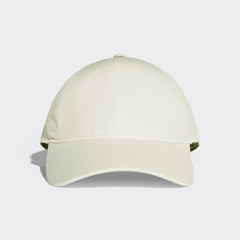 Light Goldenrod Yellow Baseball Cap Mock up