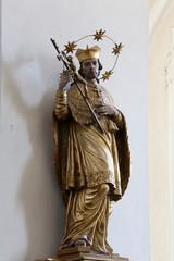 Saint John of Nepomuk, Basilica of St. Vitus in Ellwangen, Germany