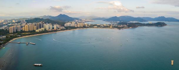 Sea bay view