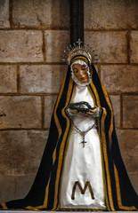 Dolorosa en Iglesia de nuestra señora del manto, Riaza