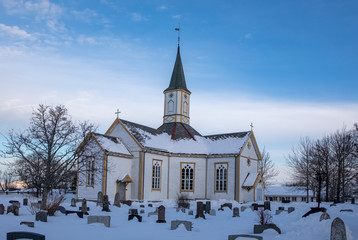 Old wooden church - Norway