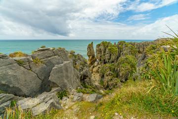 punakaiki pancake rocks, west coast, new zealand 4