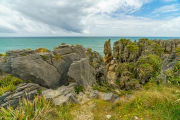 punakaiki pancake rocks, west coast, new zealand 7