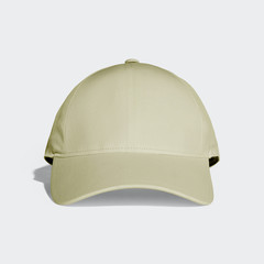 Yellow Dark Khaki Baseball Cap Mock up