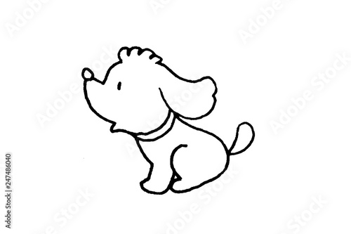 犬の塗り絵 Stock Photo And Royalty Free Images On Fotoliacom Pic